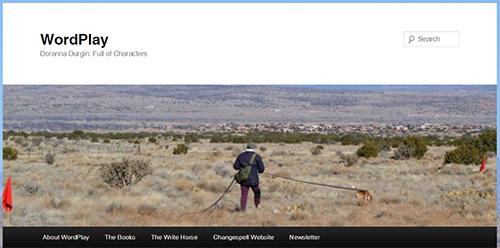 screenshot of header